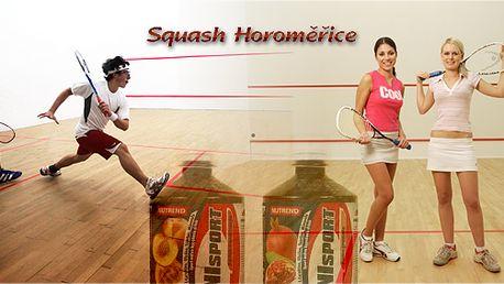Pronájem squashového kurtu na hodinu + 2x 0,3l iontového nápoje, to vše za neskutečnou cenu! Platnost voucheru do 30. 6. 2012!