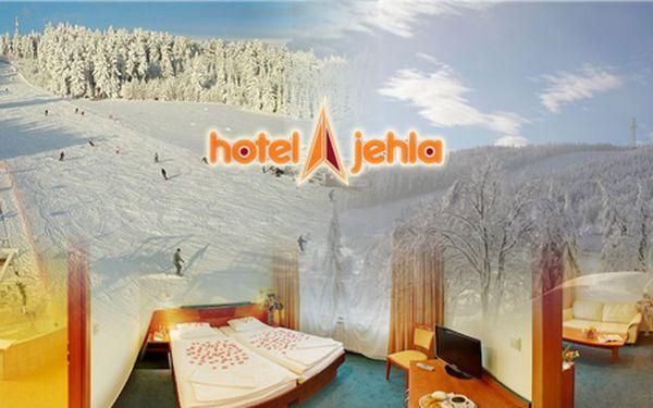 3 - denní pobyt pro dvě osoby s polopenzí v nově zrekonstruovaném hotelu Jehla! Hotel se nachází v bezprostřední blízkosti běžeckých tratí a nedaleko od ski areálu Harusův Kopec.