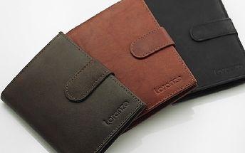 Pravá KOŽENÁ peněženka Loranzo s vaším TEXTEM ! Super dárek