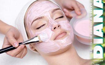 50% sleva na kosmetiku pleti! Včetně masáže a líčení za 239 Kč.