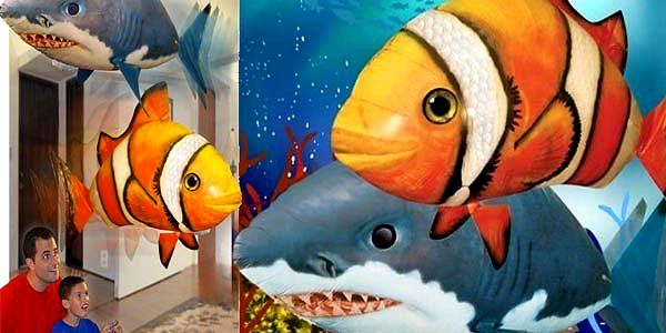 NEJLEPŠÍ NABÍDKA NA LÉTAJÍCÍ RYBU VČETNĚ HÉLIOVÉ BOMBY NA TRHU!!!! Pouhých 999 Kč za tuto skvělou hi-tech hračku, která rozzáří oči nejen vašim nejmenším, ale celé rodině!!! Létající ryba by neměla chybět ani ve vaší rodině!