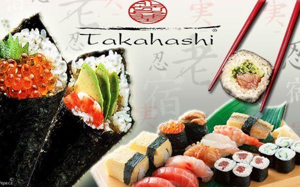 Pohlaďte vaše chuťové pohárky gurmánským menu pro 2 osoby ve stylovém sushi baru takahashi! Celkem 34 kusů precizně připraveného sushi si nyní můžete vychutnat kdykoliv - od rána až do večera!! Objevte, jak chutná pravý orient!