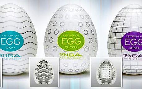 Skvělý erotický pomocník Tenga Egg!! Nechte svou fantazii pracovat a vychutnejte si originální pocity. Nabízíme několik provedení s různými motivy. Skvělý originální dárek!