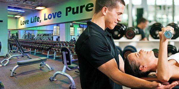 239 Kč za hodinu s osobním trenérem a neomezený celodenní vstup do luxusního fitness PURE. Novoroční předsevzetí se slevou 89 %!