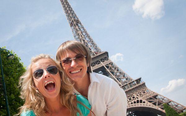 Eurovíkend v Paříži za 5999 Kč! Tři plné dny díky nejlepším časům odletů - perfektní na Valentýna!