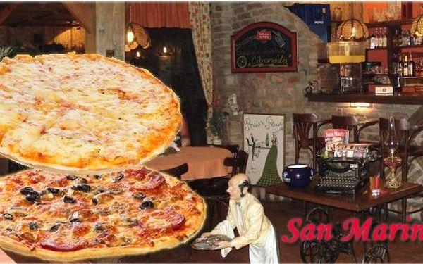 NEODOLATELNÁ NABÍDKA - 2 pizzy za 129 Kč, výběr z 28 druhů. Mistrovsky připravená pizza z nejčerstvějších surovin, kousek od nákupního centra Novodvorská Plaza! Buon Appetit!