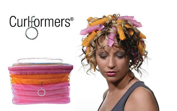 Krásně vlnité vlasy během okamžiku - natáčky CURLFORMERS® se slevou 33%