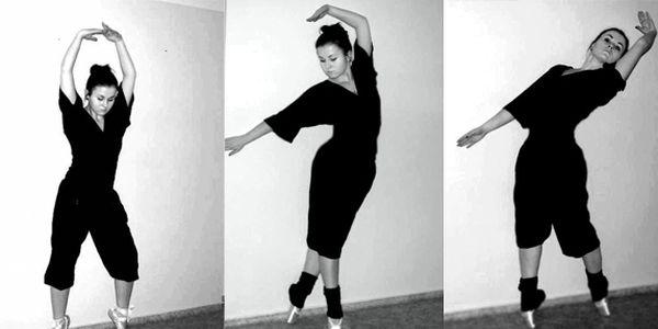 Kurz tanečního cvičení Port De Bras.