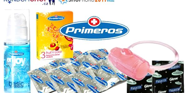 429 Kč za balíček kondomů Primeros. 50 ks Extra safe a 20 ks Jahoda aroma + lubrikační gel a vibrační kroužek Pasante. BONUS: dva svítící kondomy Pasante Glow. Poštovné je v ceně!