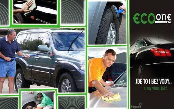 DEJTE ZELENOU DOKONALE ČISTÉMU VOZU! Ruční mytí auta EcoOne šetrné k životnímu prostředí! Dostanete kávu ZDARMA a vaše auto zase během 60 minut ruční mytí, voskování, ochranu před solí, umytí disků, ošetření pneumatik, leštění skel, tepování a vysátí!