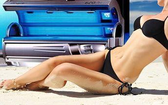 100 minut v soláriu s 50% slevou! Nové trubice a dvojí klimatizace