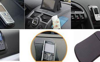 Neuvěřitelná cena 33Kč za nanopodložku. Hodí se všude. Do auta, kanceláře nebo domů. Revoluční nanotechnologie umožňuje udržet předměty v neuvěřitelných polohách. Udrží prostě cokoliv.