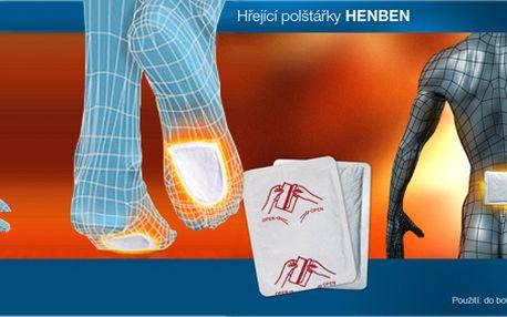 8 ks hřejících polštářků HENBEN za pouhých 99 Kč! Stači pouze nalepit a 1 polštářek Vás bude hřát teplotou okolo 50°C celých 8-10 hodin!