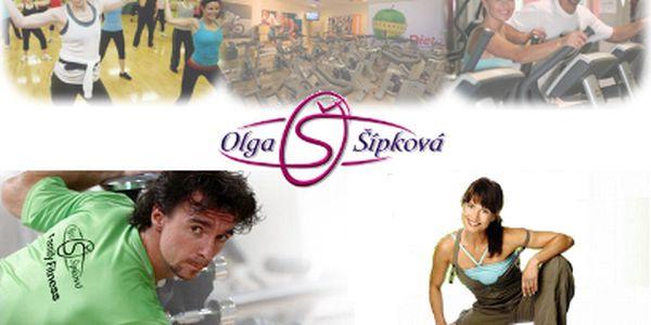 Permanentka na dvacet vstupů do fitness Olgy Šípkové jen za 1699 Kč! Hubněte s celebritami!