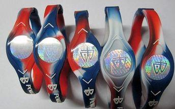 Originální náramek Power Balance NBA v barvách České republiky za nejlevnější cenu v CZ - pouze 69 kč!