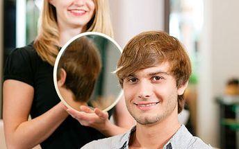Pánové, dejte Vašim vlasům nový střih! Ať má Váš účes konečně švih. 51% sleva na kadeřnický balíček pro MUŽE- mytí vlasů, střih, vysušení a styling v exkluzivním salónu HAIR STUDIO MARIE .