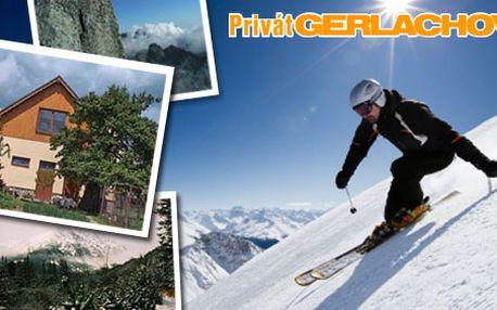3 denní pobyt pro 2 osoby v privátu Gerlachov ve Vysokých Tatrách jen za 875 Kč, kde si každý lyžař najde svůj svah! HyperSleva 51 %.