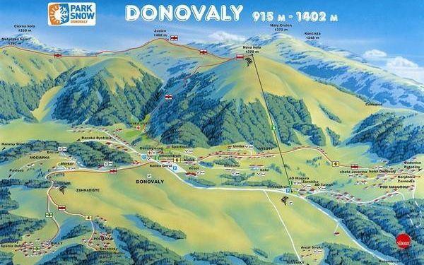 Ubytovanie na 3 noci pre 3 osoby v útulných apartmánoch Tatran - Donovaly so zľavou 50%! Zažite nezabudnuteľnú lyžovačku na strednom Slovensku!