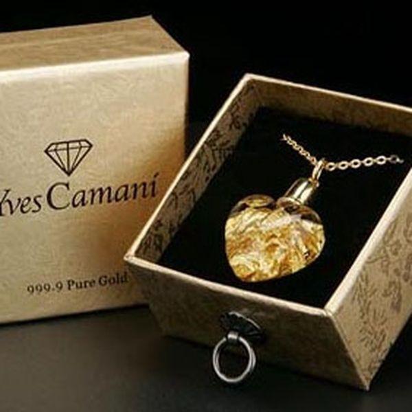 Darujte srdce s pravým zlatem! Krásný dárek na Valentýna za třpytivých 1190Kč. Luxusní dárek pro ženu jako výraz hluboké náklonnosti a lásky s 66 % slevou!