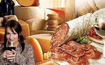 Mlsná koza Vám připravila supervečeři doma! Skvělý degustační talíř obsahující 6 druhů fermentovaných, neboli zrajících salámů a klobás za neskutečných 98 Kč! K tomu navíc 5 dcl vhodně zvoleného sudového vína! Sleva 51% !