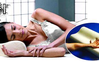 Novinka - Memory Pillow - polštářek z paměťové pěny, který Vám poslouží k dokonalému odpočinku a spánku! Dopřejte tento polštářek svým blízkým!