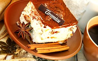 Dejte něco, co lahodí Vaší chuti! Na TIRAMISU je spolehnutí. 52% sleva na presso s mlékem, Tiramisu a 0,2dcl vody v restauraci Café Honner.