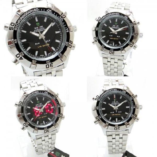 Pouze 399,- Kč značkové elegantní pánské hodinky Weide. Nyní akční sleva 80%!Jen 100ks.