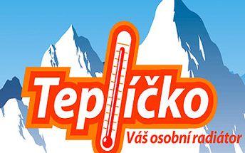 Skvělých 390 Kč Teplíčko - osobní kamínka na tělo (10x2 sáčky)! TEPLÍČKO - Váš osobní radiátor vhodný na zimu, na hory na lyže, sáňkování! Super sleva 34 %!