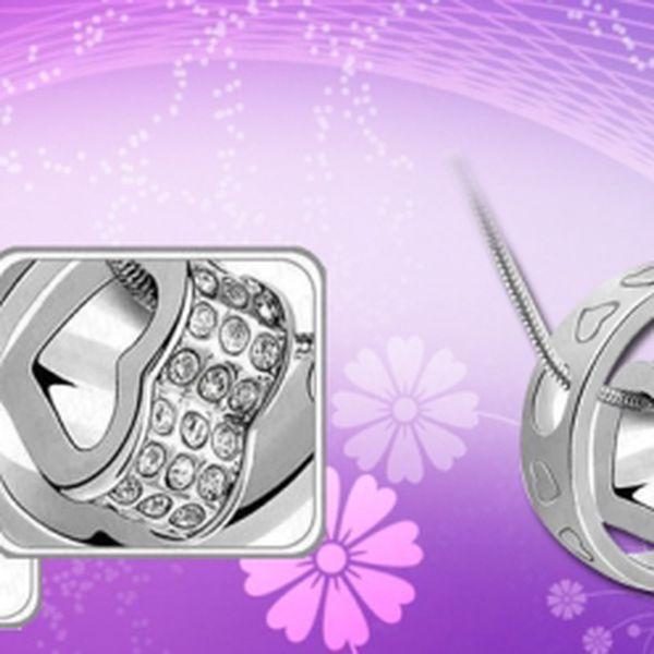 Nádherný řetízek se srdíčkem za pouhých 169 Kč! Nepromarněte svoji šanci příjemně překvapit svoji drahou polovičku krásným šperkem.