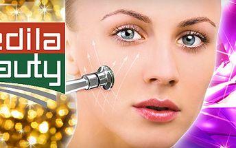 199 kč za luxusní ošetření pleti diamanty a aplikaci zlatého kolagenového séra !! Diamantová mikrodermabraze vyhladí vrásky a vypne vaši pokožku!