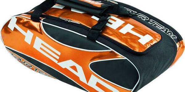 Universální sportovní taška HEAD za prostorných 550 Kč! Ideální na všechny sportovní aktivity včetně tenisu, squashe a badmintonu.