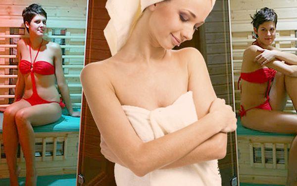 89 Kč za 40 minut v infra sauně pro DVA. Uvolnění, redukce váhy a posílení imunity. Dopřejte si relax v Alžbětiných lázních s 55% slevou!