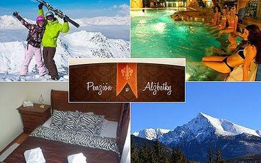 Neopakovateľný 3-dňový pobyt pre 2 osoby priamo pod Vysokými Tatrami v penzióne ALŽBETKA! V cene raňajky, sauna, súkromná vírivka, parkovanie a zľava 15% do AquaCity Poprad! CityKupón platí až do 30. 11. 2012!