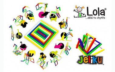 Dětské 3D puzzle JELIKU jen za 99 Kč! Jeliku je snadné na hraní, ohýbání, otáčení tam a zpět, vytváření zajímavých a vzrušujících tvarů! Udělejte radost svým dětem !