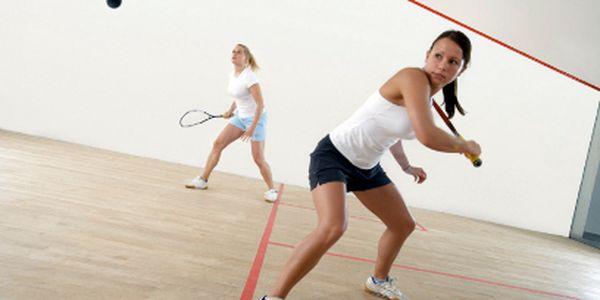 Hodina squashe jen za 99 Kč!
