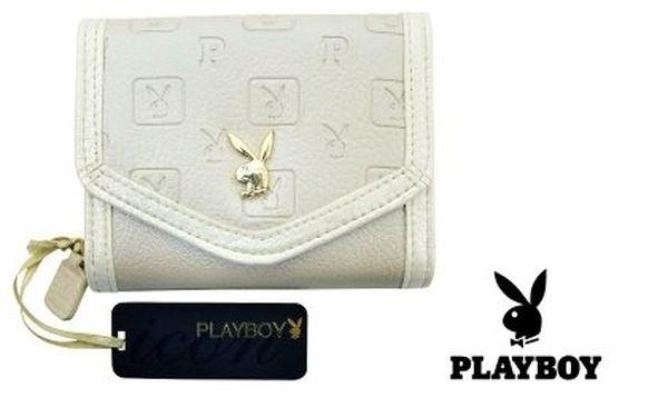 Dámská peněženka Playboy – luxusní vzhled podle poslední módy. Poštovné v ceně