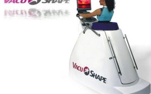 Kompletní balíček 80 minut! VacuShape- 30 minut a profesionální přístrojová lymfodrenáž - 50 minut za neskutečných 189Kč