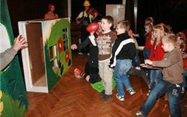 Večerní představení nebo nedělní pohádka v Malém Vinohradském divadle se slevou 50%