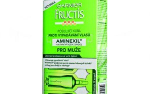 Jen 129 Kč - Pánové, vzepřete se padajícím vlasům s přelomovým výrobkem Garnier Fructis AMINEXIL pro muže se slevou 57% !