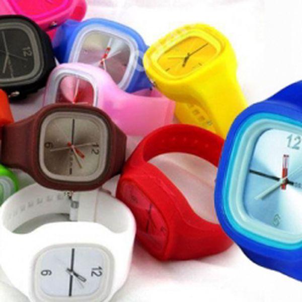 Super! Módne silikónové hodinky s veľkým displejom len za 5,20 Eur! Sú vhodné pre každého, bez výnimky veku alebo pohlavia! Využite zľavy 55% !