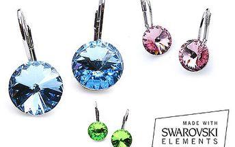 Dopřejte si krásný šperk, jen o něm nesněte! S náušnicemi Swarovski trendy budete. 60% sleva na náušnice značky Swarovski, kvalitní a vkusné náušnice pro každou příležitost. Tip na dárek pro přítelkyni na Valentýna.