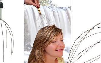 Pomůcka pro masáž hlavy jen za 45Kč, se slevou 70%. Masáž akupresurních bodů touto skvělou věcičkou Vás dostane do stavu absolutní blaženosti.