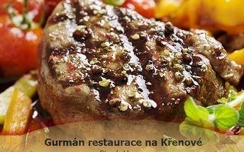 1 kg steak a 400 g hranolek pro DVA! Hranolky nebo americké brambory a omáčka