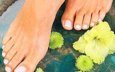 Zajděte si na pedikúru! Dopřejte Vašim nohám potřebnou proceduru. 50% sleva na mediciální pedikúru zahrnující- koupel nohou, odstranění ztvrdlé kůže, masáž chodidel a úpravu nehtů.