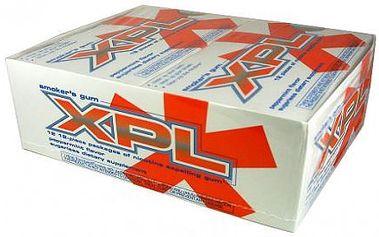 Jen 85,- Kč za 144 ks amerických žvýkaček XPL, která Vám vyčistí zuby, osvěží dech a odbourjí nikotin z těla. BONUS - při nákupu 3 balení získáte 1 balení ZDARMA !!!