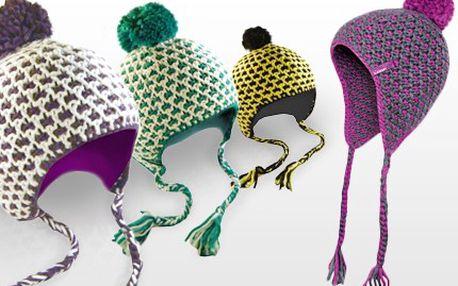 Kupte si cool LOAP čepici! Chraňte se před mrazem i vichřicí. 50% sleva na dámskou zimní čepici LOAP CAITIE, k dispozici jsou barevné kombinace: Purple, Indigo, Green a After Dark. Čepic není nikdy dost.