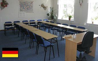 Kurz německého jazyka pro začátečníky pouze za 1 899 Kč v Akademii Komenského v Ostravě. Celkem 30 vyučovacích hodin se slevou 58%!