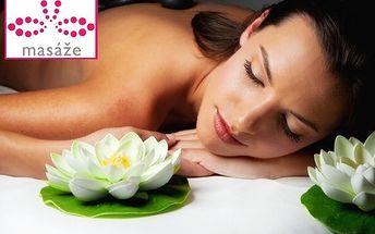 61% sleva na 2hodinovou masáž lávovými kameny – totální uvolnění!