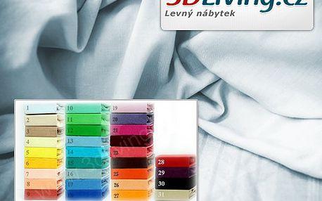 Extra hebké dvoulůžkové prostěradlo s 40% slevou! Dvoulůžko, 8 odstínů a termoregulační materiál!