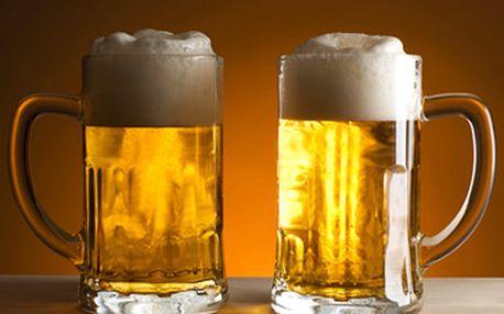Fantastických 149 Kč za neomezenou konzumaci 10° a 11° piv Budvar, Pardál a Černá hora od pondělí do neděle v době od 16-20 hodin! Potěšte své chuťové pohárky se slevou 53 %!
